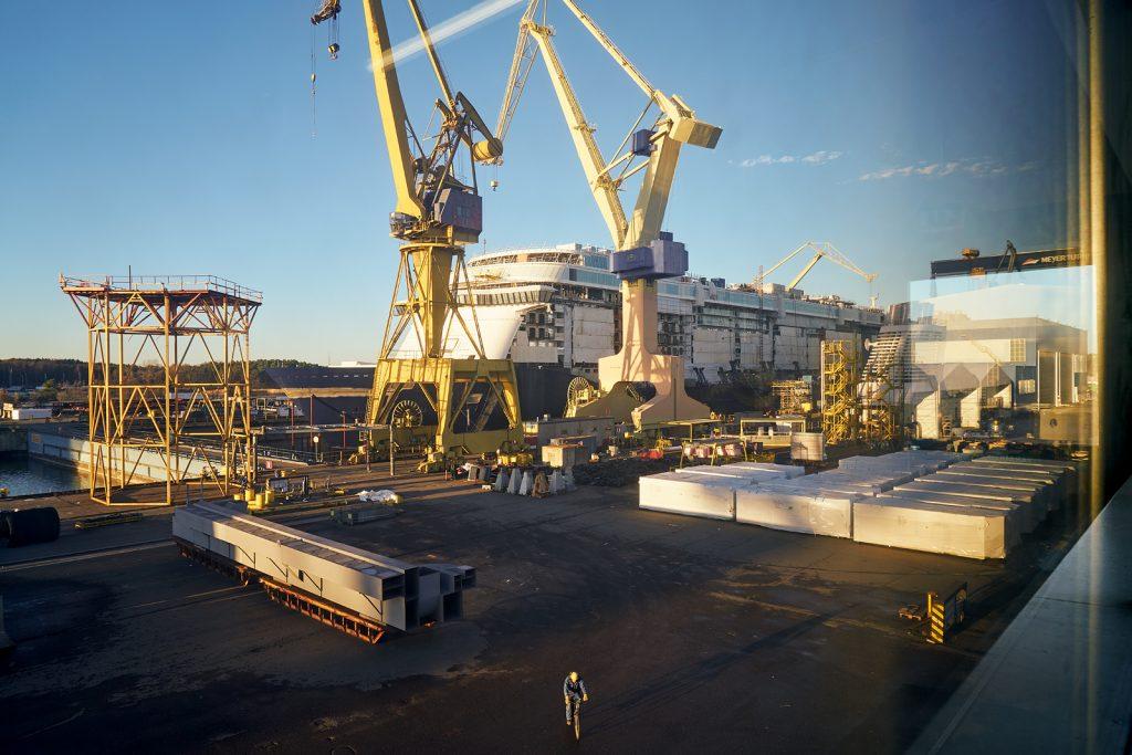 mein Schiff entsteht 2016 / turku finnland